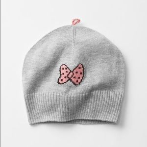 Other - Peanuts bow beanie-Baby Gap- used